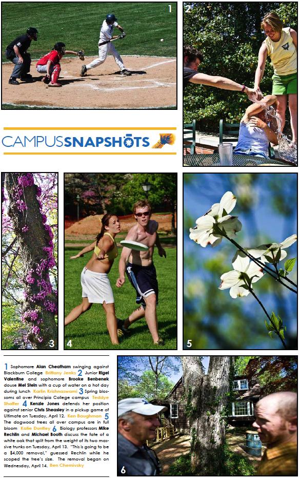 Campus Snapshots 04-16-10
