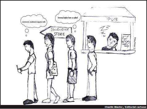 Editorial Cartoon 05-14-10