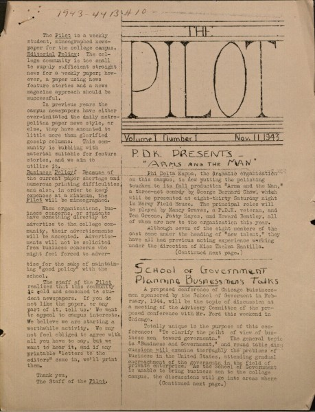 An issue from 1943. photo/Sarah Litwiller