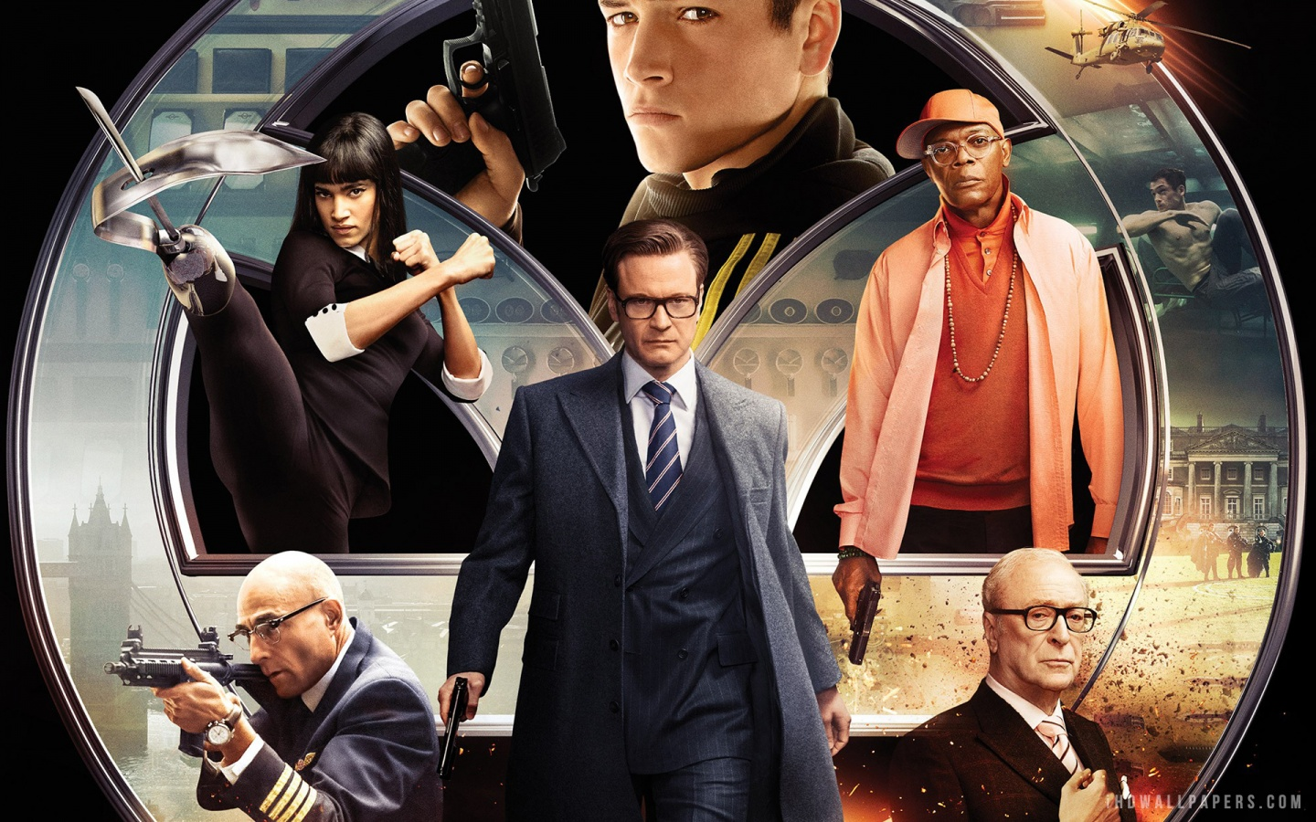 """Kingsman:"""" Ruler of the Modern Action Sequence   The PILOT Magazine"""